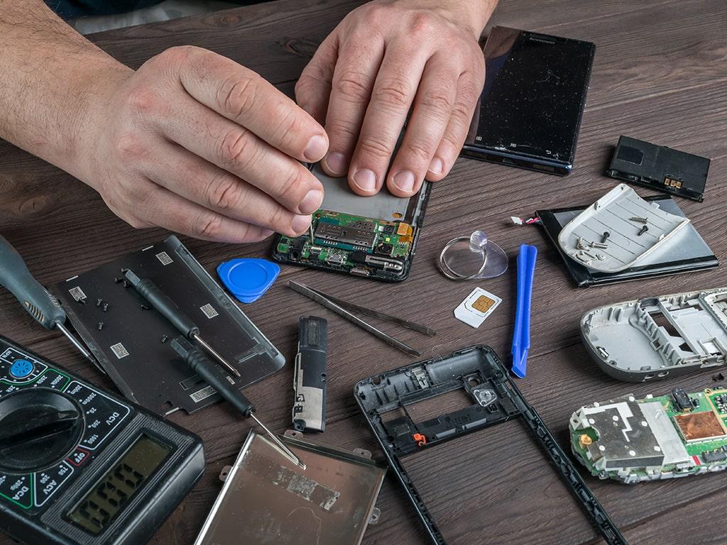 Formation de réparation de smartphone et tablettes