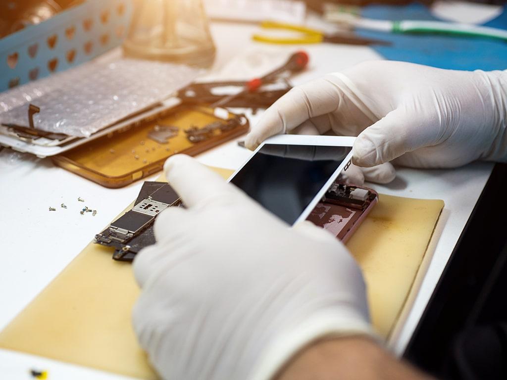 Formation de réparation de téléphones et tablettes